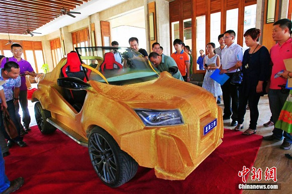 Meet The First Chinese 3D printed Car