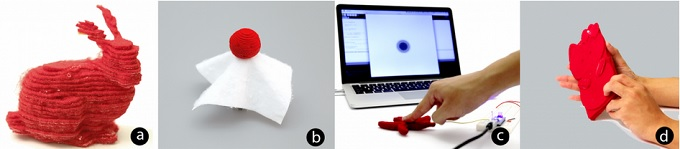 """Soft"" 3D printer that can produce objects from layered felt was presented by Disney researchers"
