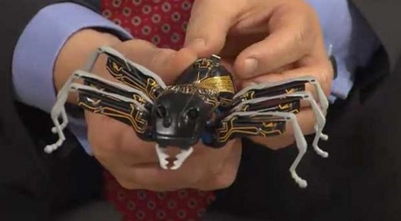 Giant 3D printed bionic ants use a wireless connection for communication