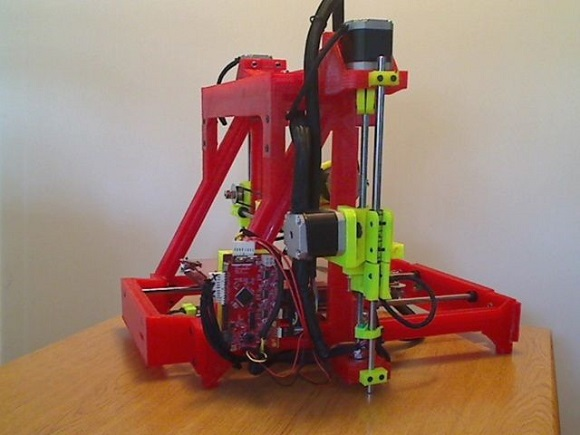 Hobbyists Design & Build a Self-Replicating 3D Printer