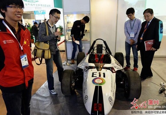 Race Car that have more than 360 3D Printed Parts revealed at Chinese Expo