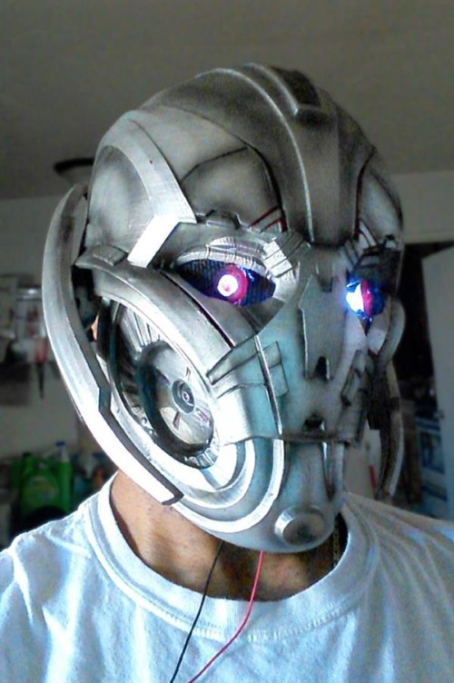 Hero Complex Props 3D printed A Cosplay Mask of Ultron