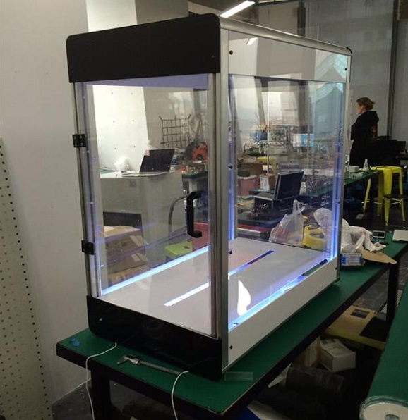 The first 3D fabric printer Electroloom is launched on Kickstarter