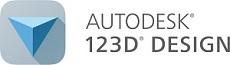 AutoDesk 123D 3D Model repository