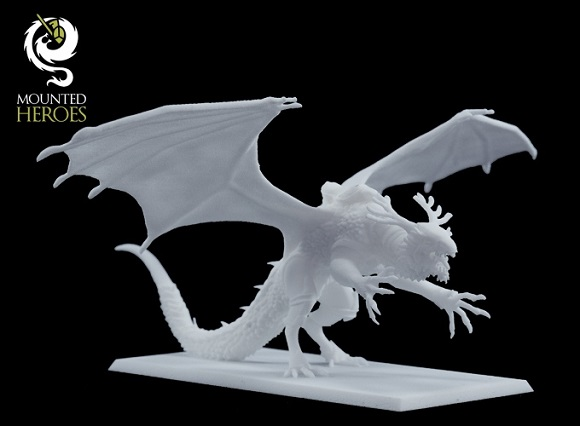 Customizable 3D printed miniatures developed by Imagine 3D Miniatures Studio