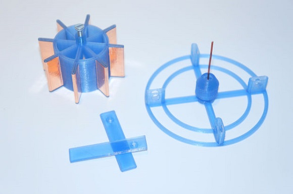 Use your 3D printer to develop an electrostatic motor
