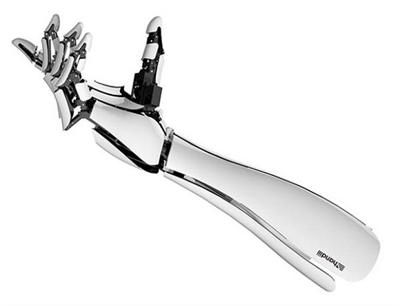 Files for 3D printed Bionic HACKberry hand are available on GitHub