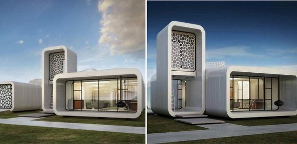 The first 3D printed office building will appear in Dubai with all the interior walls and furniture also 3D printed