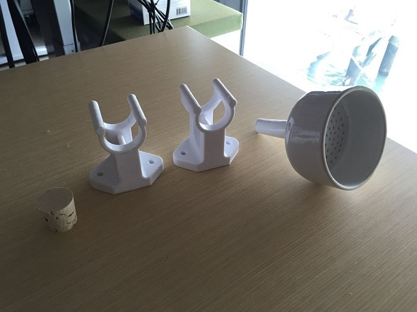 3D printed Coffee Cold Brewer for Your Cup of Iced Coffee