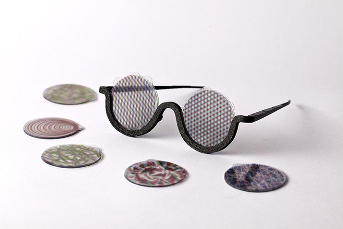 3D Printed MOOD Glasses for Trippy Visuals without the Trip