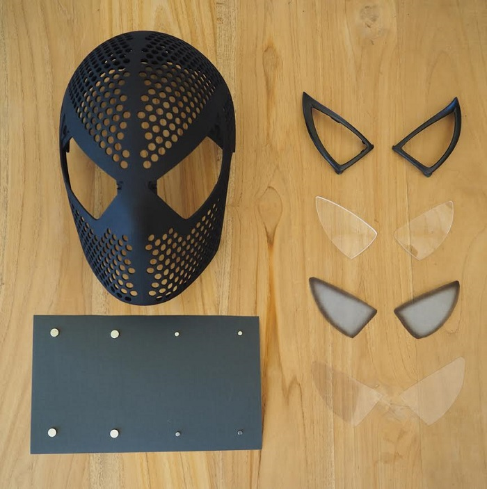 The Amazing 3D Printed Spider-Man Mask