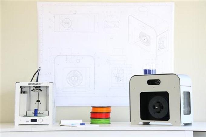 NEXT 1.0 high end filament Extruder on Kickstarter