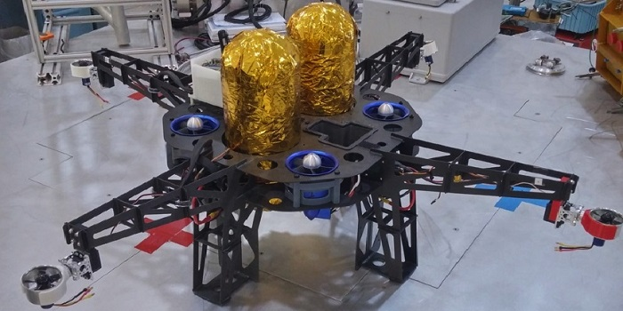 Space Drone Parts 3D Printed by NASA