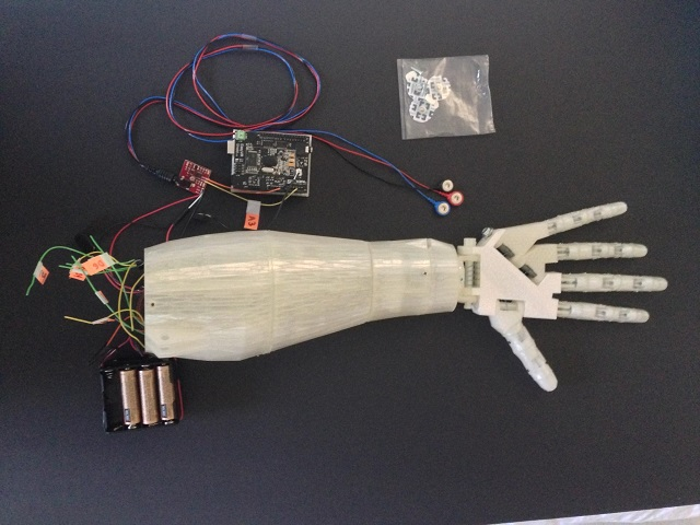 3D Printing of Voice Controlled Prosthetic