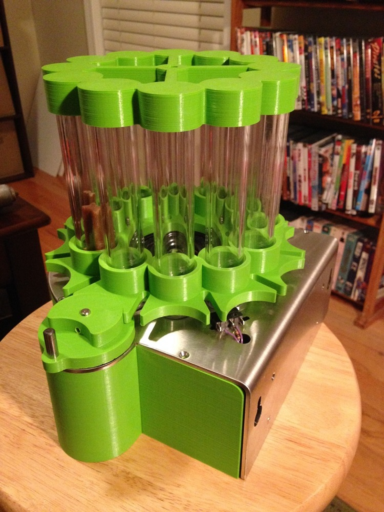 Your Dog Should Like This 3D Printed Automated Dog Treat Feeder