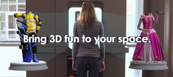 3D Systems' New and Improved 3DMe Photobooth