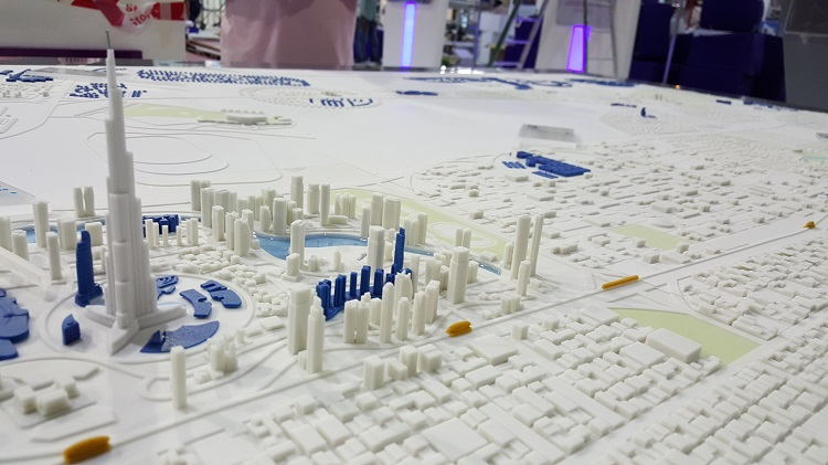 3D Printing the Modern Dubai City