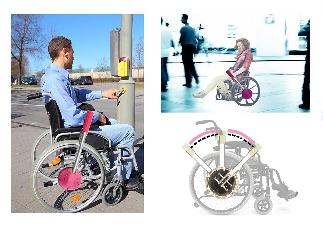 Affordable 3D Printed Wheelchair Is a Good Replacement To Lever-Powered One