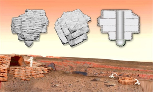 Living on Mars in 3D Printed Houses