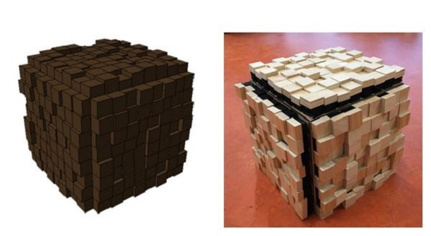 3D Printed Voxel – Is It a Table or a Seat?