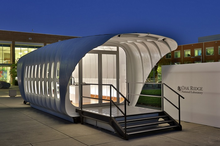 3D Printed House and Car That Produce and Share Clean Energy