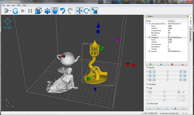 Open Source Software for 3D Printing by 3dim Maker
