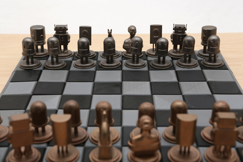 Enjoy 3D Printed Chess Set by Adafruit