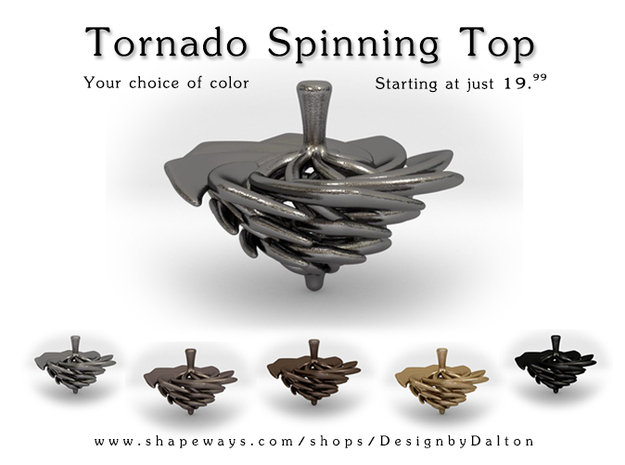 Dalton Bissell's 3D Printed Spinning Top