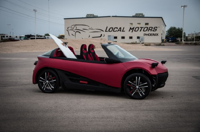 The First Ever 3D-printed Car Is Available at $53,000