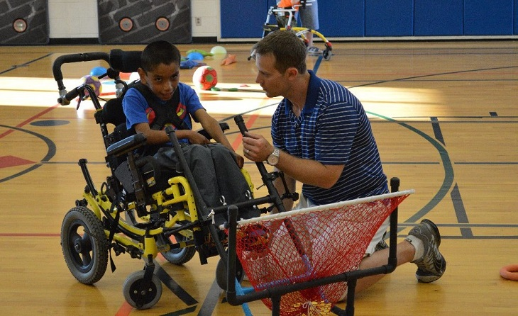 Teacher Needs Assistance for 3D-Printed Assistive Sports Equipment for Disabled Kids