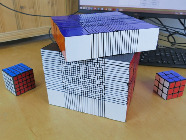 World Record-Breaking 3D Printed Rubik's Cube