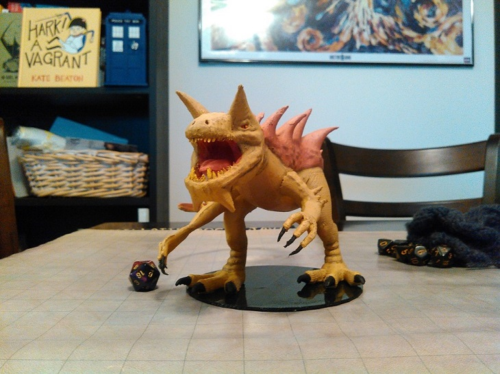 The Amazing Miguel Zavala Collection of 3D Printed Dungeons and Dragons Monsters