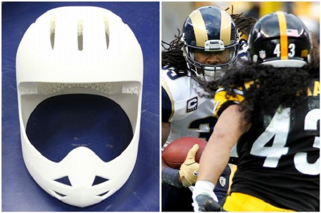 Taking it Head-on: NFL Backs 3D-Printed Helmet for Further Development