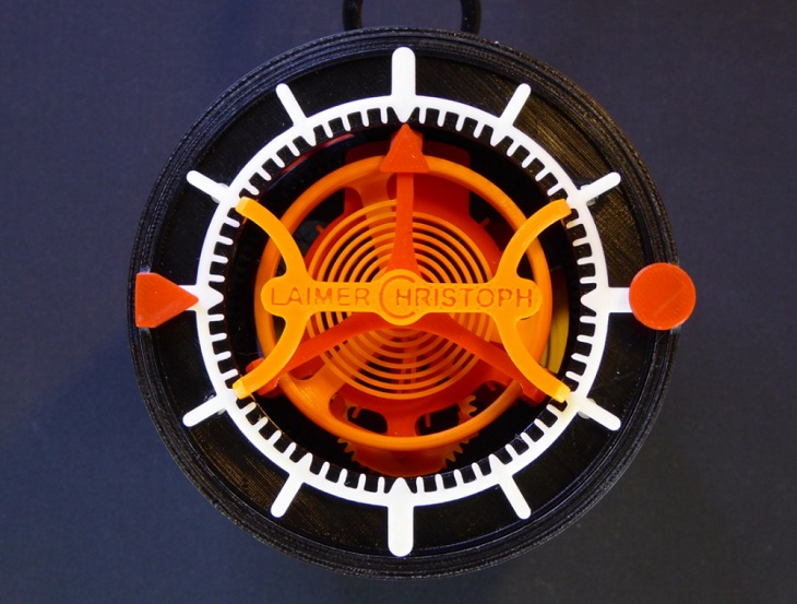 A Blast from the Past with a 3D Printed Tourbillon Clock
