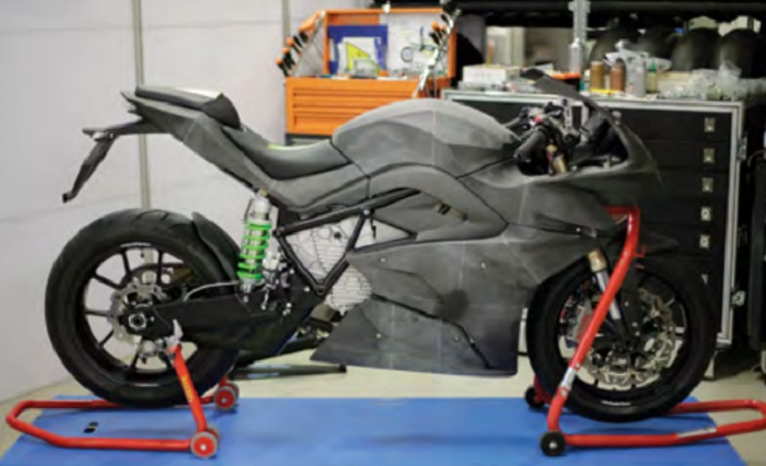 Revolutionary Superbike is Made Possible by 3D Printing