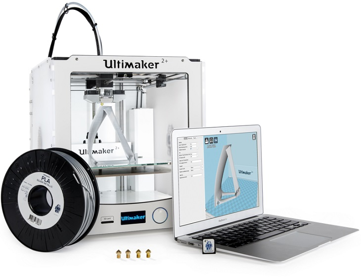 Ultimaker Gears Up with the Ultimaker 2+ and the Ultimaker 2+ Advanced 3D Printers