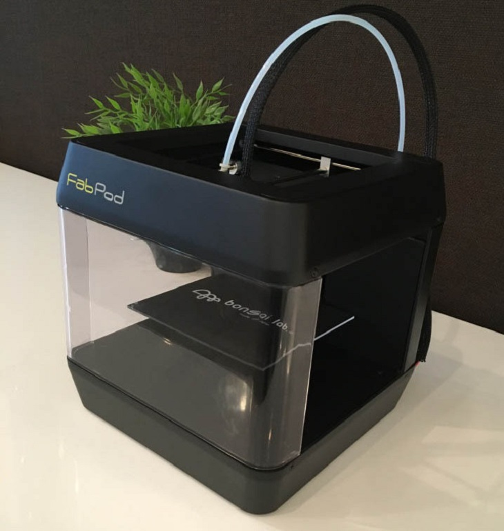 The FabPod from Bonsai Lab World's First Voice Controlled 3D Printer