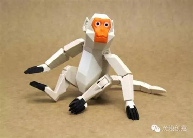 3D Printed Monkey Action Figure to Herald Chinese New Year