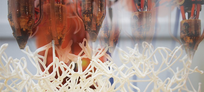 New 3D Printing Technique Using Robots Builds Intricate Voxelized Chairs