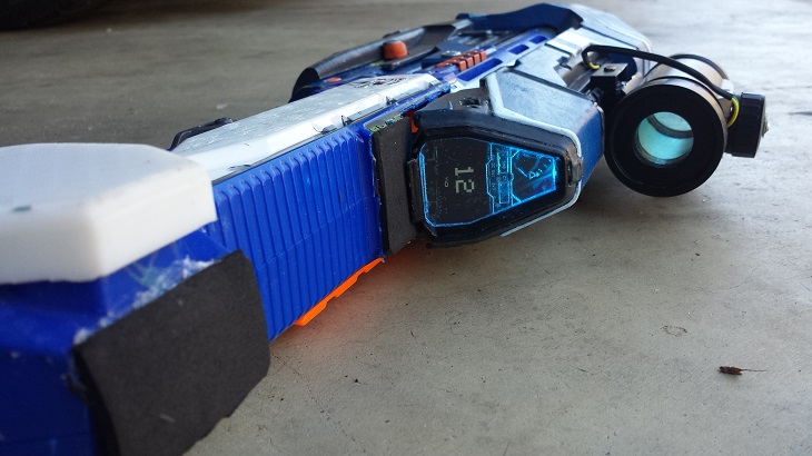 3D-Printed Halo 5 MA5D Assault Rifle is set to Tip the Balance to Humans in Fight against Zombies