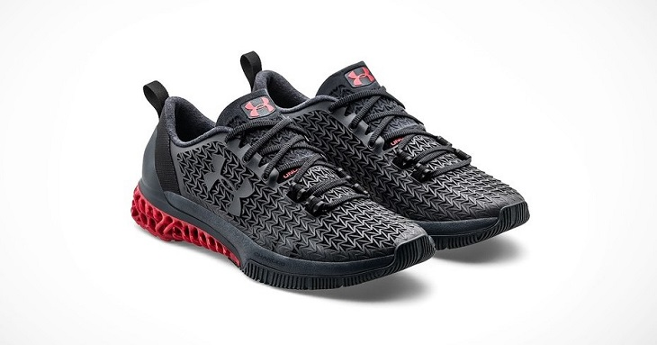 3D Printed Training Shoes Unveiled by Under Armour