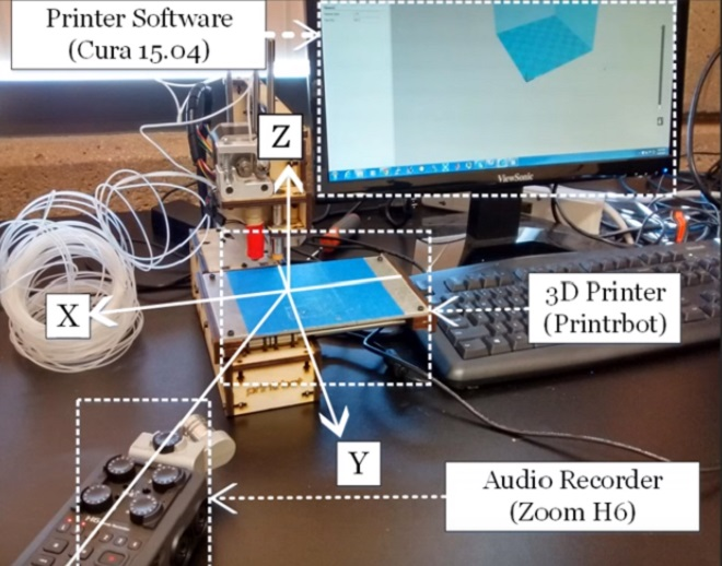 3D Printer Noise Can Be A Security Threat