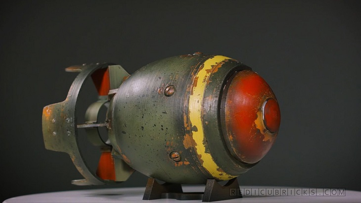 3D Printed Mini Nukes to Celebrate the Fallout 4 Game