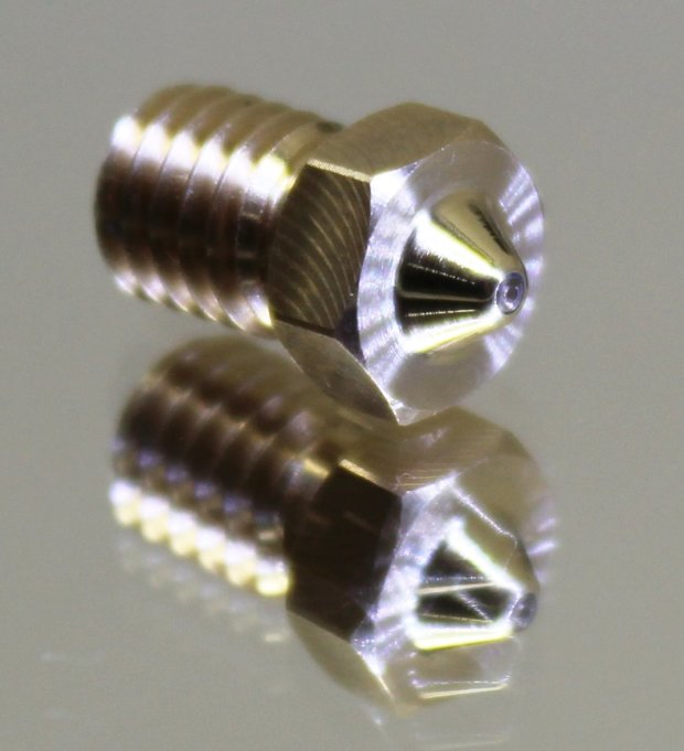 Anti-wear Sapphire Nozzle for 3D Printers Compatible with Any Type of Material