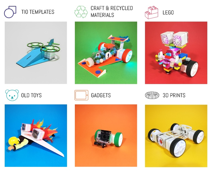 Tio Kits Turning 3D Prints and Toys into Controllable Devices via Smartphones