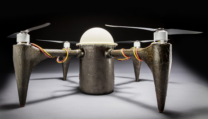 CRACUNS: An Underwater 3D Printed Drone