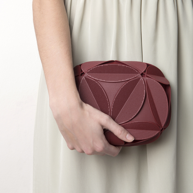 3D Printed Clutch Designed by Maison 203 and Odo Fioravanti