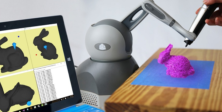 Geomagic Touch: A Gadget for 3D Printing