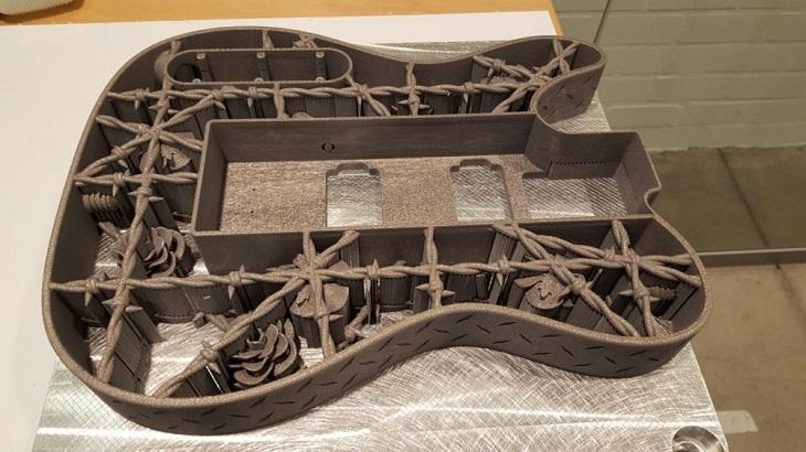 Heavy Metal: A 3D Printed Guitar Made of Aluminum