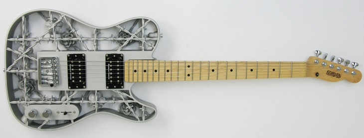 Heavy Metal: A 3D Printed Guitar Made of Aluminum